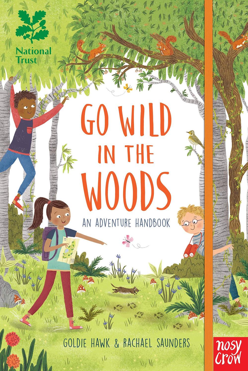 Book - go wild in the woods