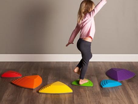 The best toys for developing gross motor skills