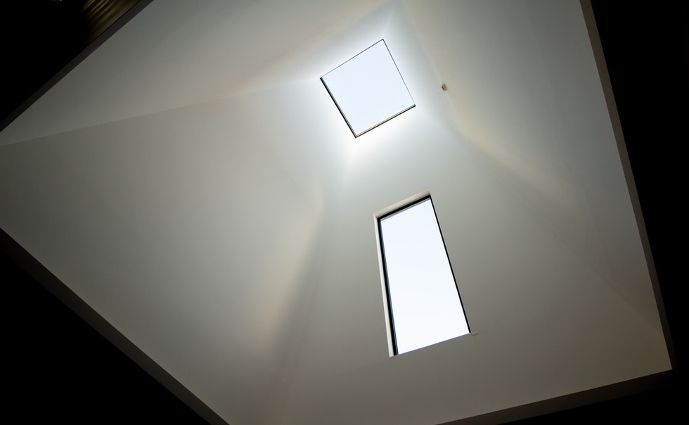 Skylight in reception