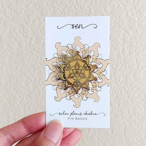 Solar Plexus Chakra // Pin Badge