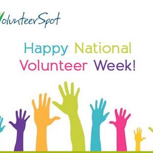National Volunteer Week Coming up!