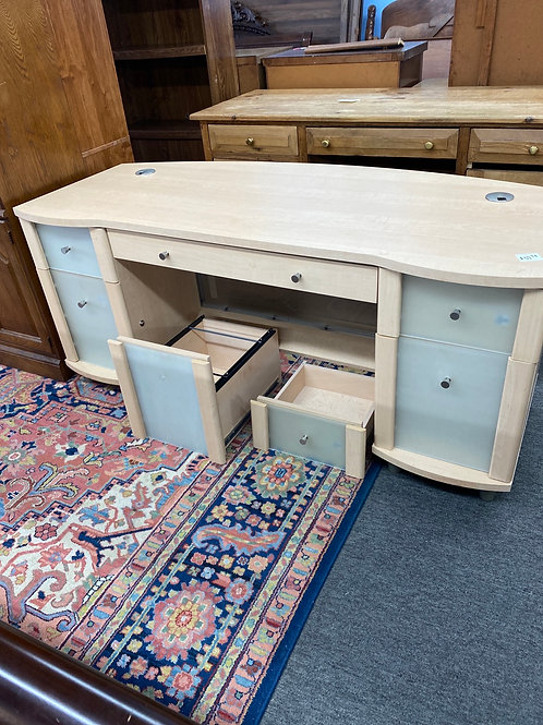 Large Desk with extra storage drawers