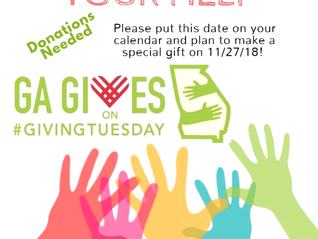 Mark your calendar for GAgives on #GivingTuesday, Nov. 27 the biggest day of generosity in Columbus