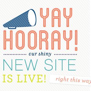 New Website Launch!