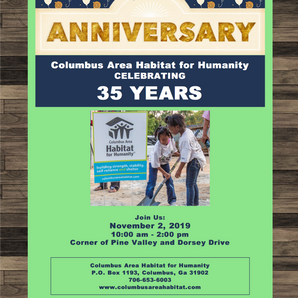 Save the Date!! 35th Anniversary