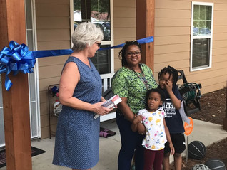 Congratulations to our New Habitat Homeowners!!