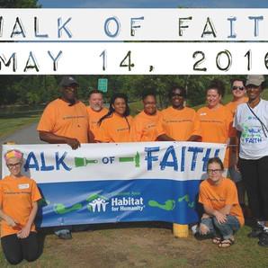 WALK OF FAITH DATE ANNOUNCEMENT