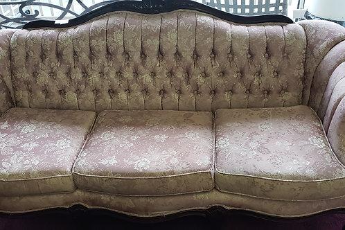 Pink Vintage Floral Couch Set