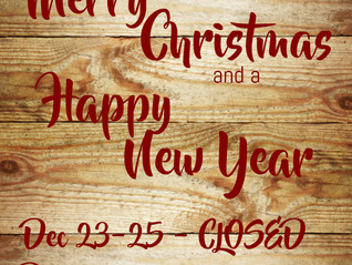 Merry Christmas to ALL. The ReStore will reopen December 26th @ 9:00 am.