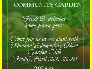 CAHFH Community Garden with Hannan Elementary School