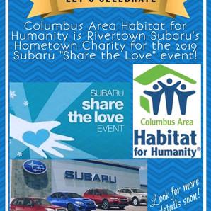 Subaru's Hometown Charity for 2019