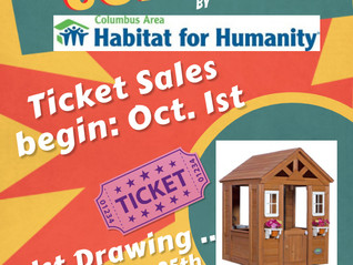 Playhouse Raffle