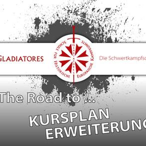 The way to ... Kursplan Erweiterung :-)