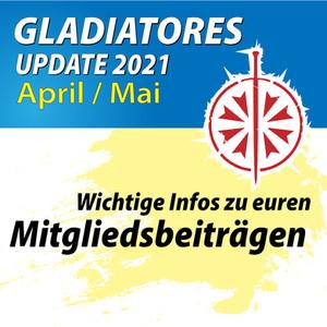 Update April / Mai - Änderung der Mitgliedsbeiträge!