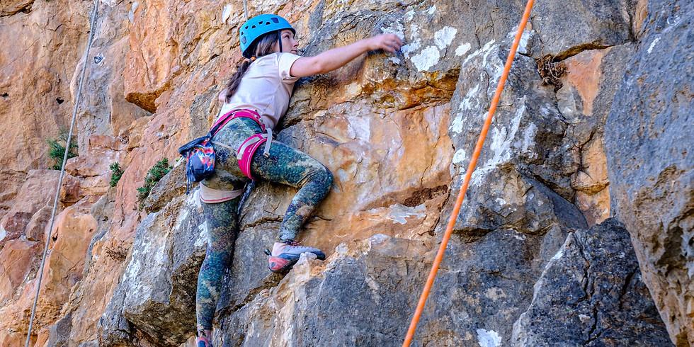 איך לטפס בטבע- בהדרכת גיא אילן - אמצע שבוע אוקטובר