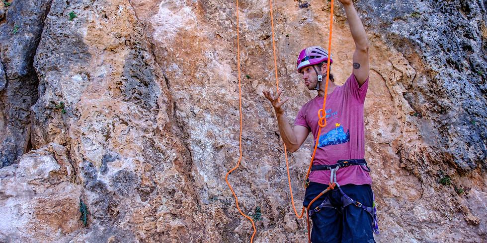 איך לטפס בטבע- בהדרכת גיא אילן - מועד חנוכה