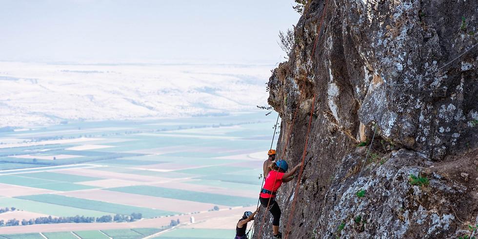 איך לטפס בטבע- בהדרכת גיא אילן