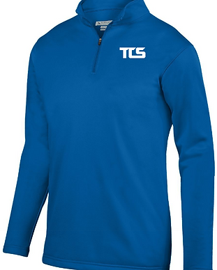 Youth Wicking Fleece Pullover - Blue.PNG