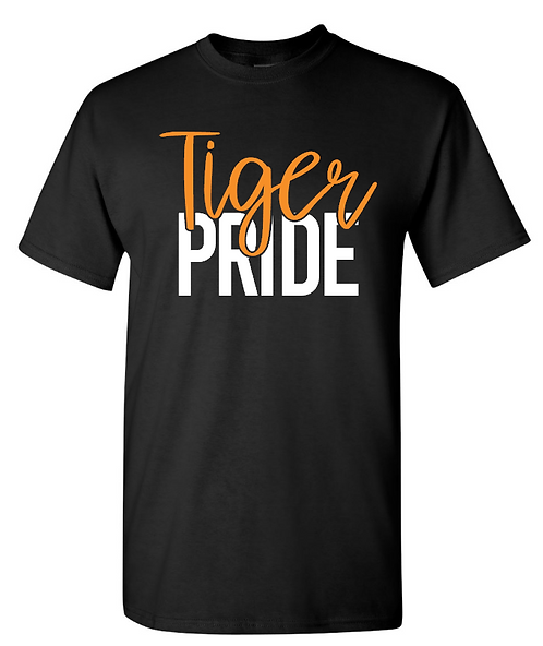 Tiger Pride Short Sleeve Tee   Youth and Adult