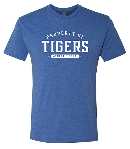 Property of Tigers Athletics Short Sleeve Tee