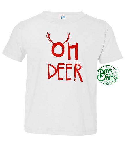 Oh Deer Toddler Tee