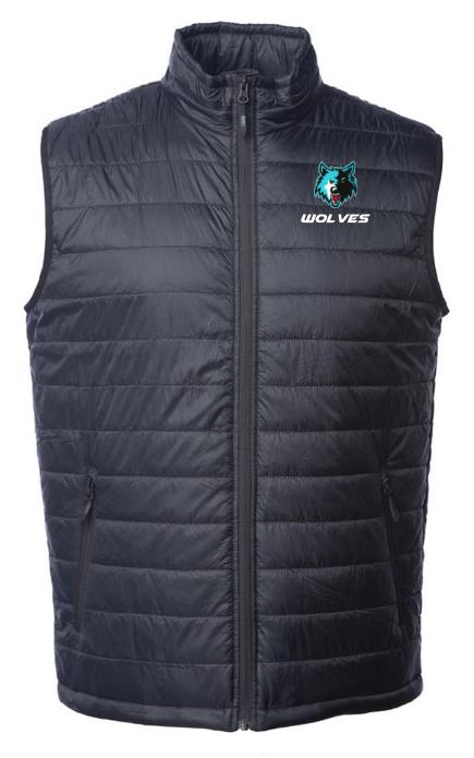 Wolves Puffer Vest