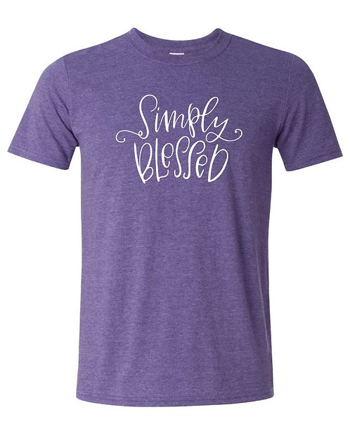 Simply Blessed Tee