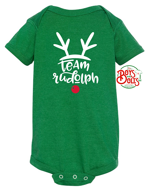 Team Rudolph Infant Bodysuit