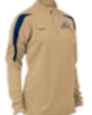 Boombah Women's Draft Quarter Zip Pullov