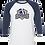 Thumbnail: Bella + Canvas - Unisex Three-Quarter Sleeve Baseball T-Shirt