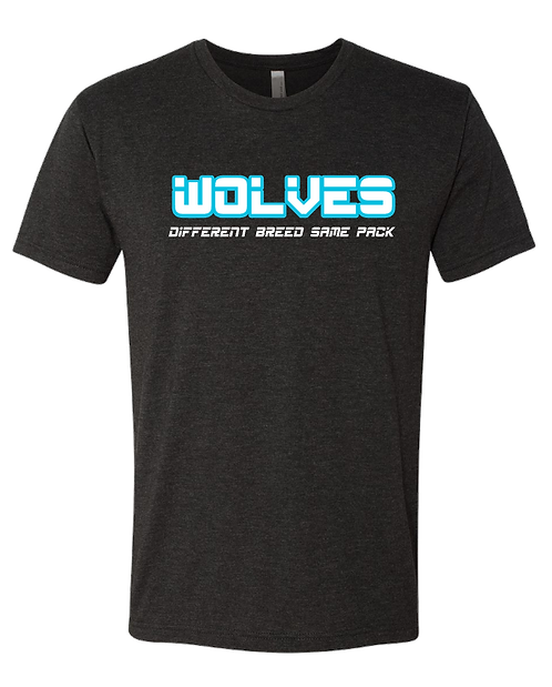 Wolves - Triblend Short Sleeve Crew