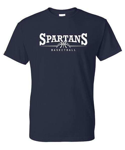 Spartans Basketball Tee