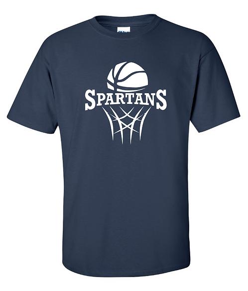 DryBlend Youth Basketball Short Sleeve Tee