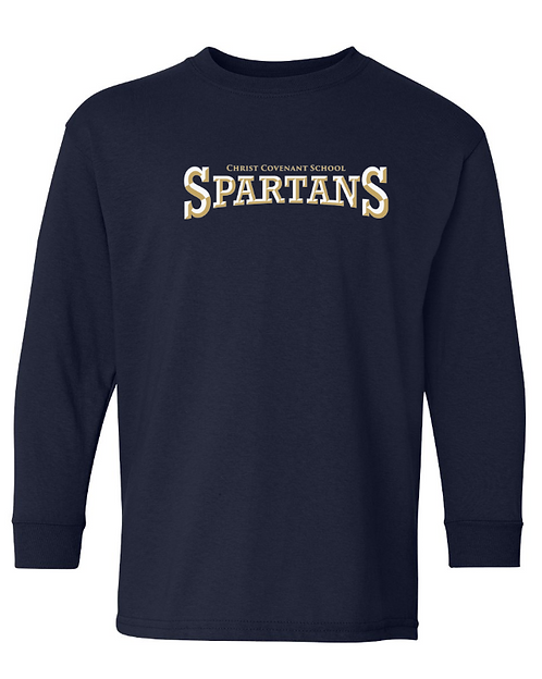 Youth CCS Spartans Long Sleeve T-Shirt