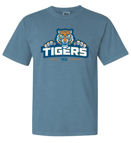 TCS Tigers COMFORT COLORS Short Sleeve Tee - Adult