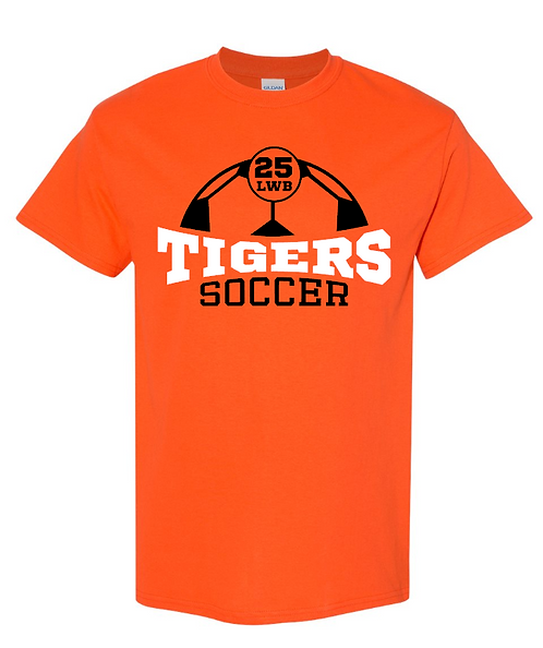 Tigers CUSTOM Soccer Short Sleeve Tee | Youth and Adult