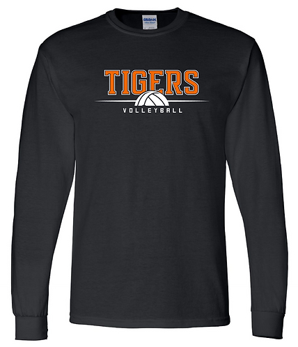 Tigers Volleyball Long Sleeve Tee