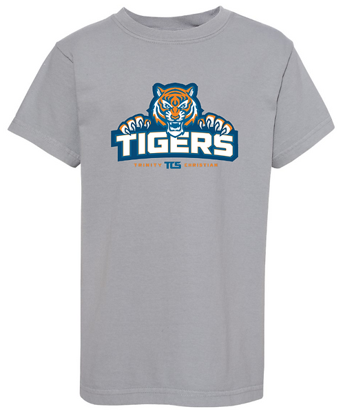 TCS Tigers COMFORT COLORS Short Sleeve Tee - Youth