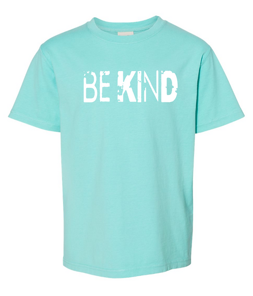 Be Kind - Youth Garment Dyed Youth Short Sleeve T-Shirt