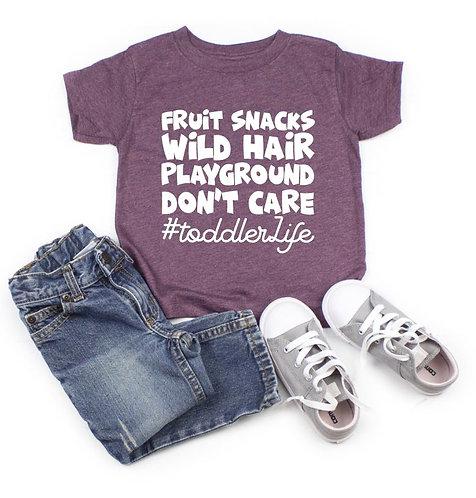 Toddler Life Tee