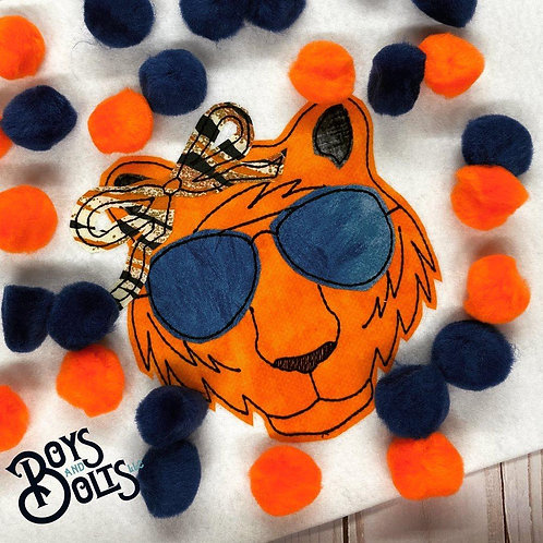 Lady Tigers - Embroidery Applique