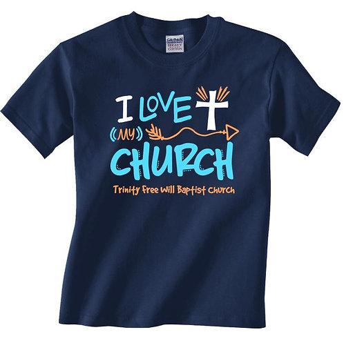CF7013 I Love My Church