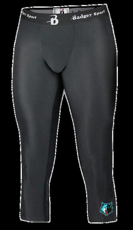 Men's Badger Calf Length Compression Tight