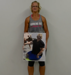 KRISTEN'S 110 POUND BEFORE AND AFTER