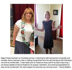 Tammy's Testimonial