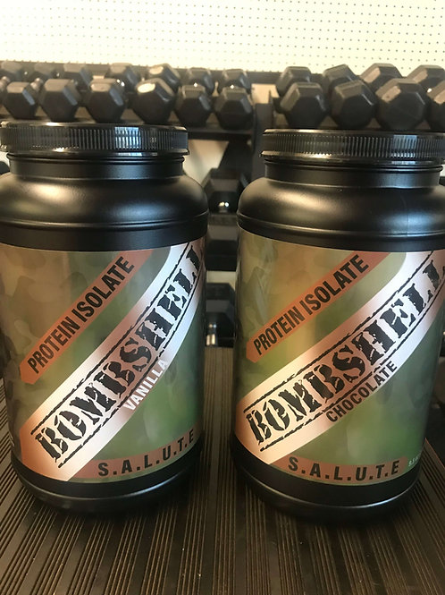 S.A.L.U.T.E. Bombshell Protein Isolate