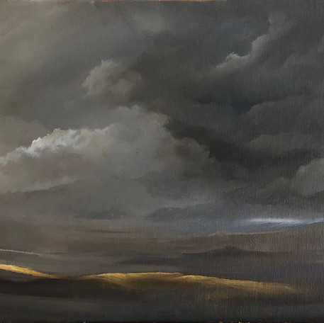 Storm Over Royal Hill - Sold