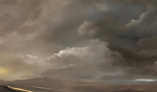 Section of Storm Over Royal Hill - 500x2