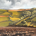 Ploughed Fields, Long Shadows - SOLD