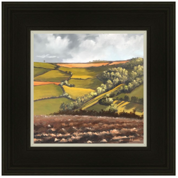 Ploughed Fields, Long Shadows